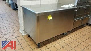**Lot Updated** Stainless Steel Table
