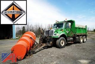 2004 International 7600 All Season Dump Truck with Plow