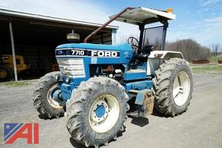 1990 Ford 7710 Utility Tractor