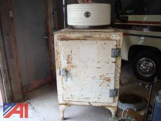 Antique GE Monitor Top Refrigerator