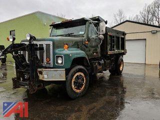 1989 International 2574 Dump Truck with Plow