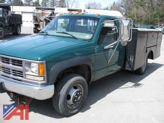 1999 Chevy C/K 3500 Utility Truck