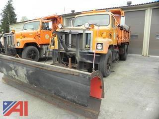 1994 International 2574 Dump Truck with Plow
