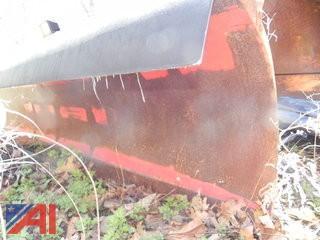 (F) 9' Western Snow Plow