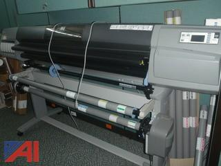 "(#110) HP Designjet 5500ps 60"" Large Format Plotter"