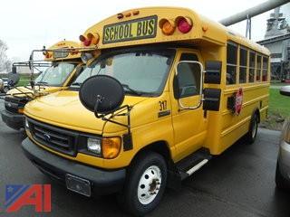 (#317) 2006 Ford E450 Mini School Bus