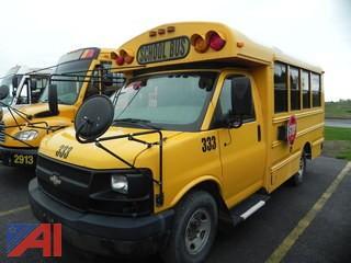 (#333) 2008 Chevy Thomas G3500 Express Mini School Bus