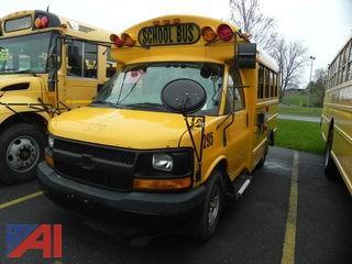 (#295) 2007 Chevy Express 3500 Mini School Bus