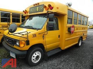 (#308) 2006 Ford E450 Mini Wheelchair School Bus