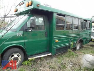 (#266) 2002 Chevy Express G3500 Mini School Bus