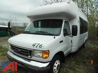 (#476) 2007 Ford E450 Bus
