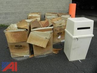 35 Gallon King Kan Garbage Cans