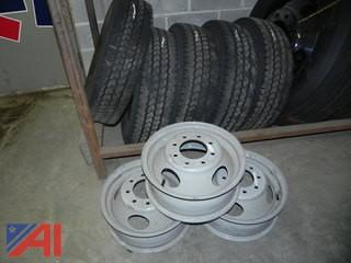 (#1) LT225/75R16 Tires and Rims