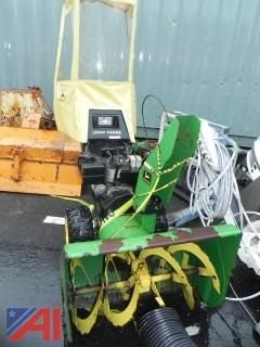 "(#9) John Deere TRS32 32"" Snow Blower with Snow Cab"