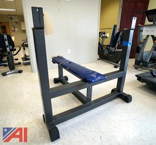 HD Steel Flat Bench Press