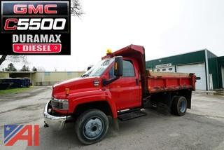 2009 GMC C5500 Dump Truck