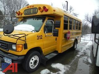 (#312) 2007 Ford E450 School Bus