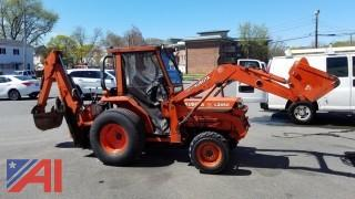 1992 Kubota LS3450 DT-7 Tractor with Attachments