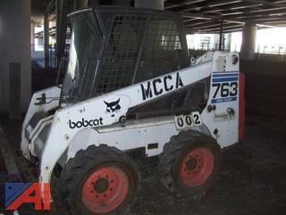 Bobcat 763G Skid Steer Loader