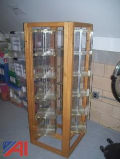 Book/DVD Storage Rack