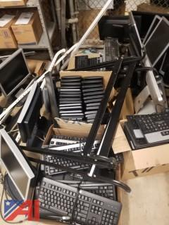 Large Lot of HP Keyboards