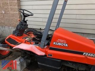 Kubota F2560 Mower Parts, Unit Does Not Operate