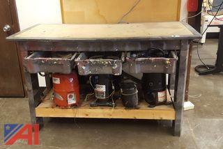Work Tables & Compressors
