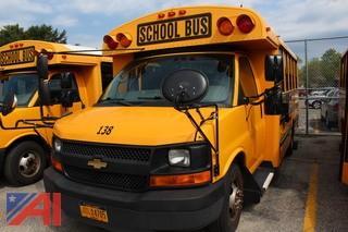 2011 Chevy Thomas Express G3500 Mini School Bus