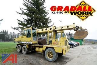 1993 Gradall XL4100 Wheeled Excavator