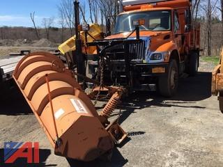 2004 International 7500 Dump Truck with Plow and Side Wing