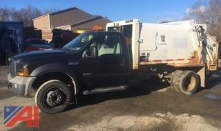 2006 Ford F550 Pickup with Garbage Body