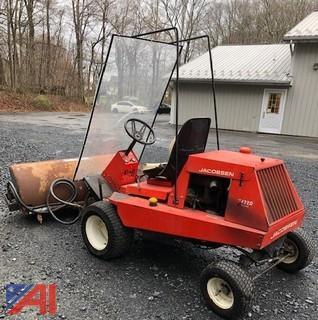 """Jacobsen Turfcat T422D 72"""" Front Deck Zero Mower"""