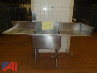 (#111) Stainless Steel Sink