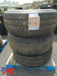 **Lot Updated** Aluminum Rims with Tires