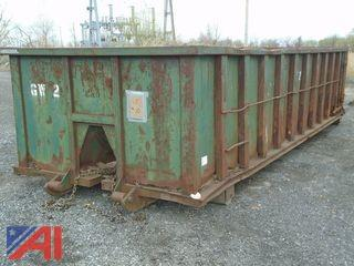 25 Yard Roll Off Container