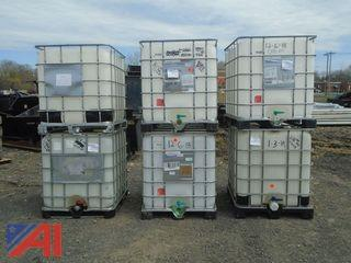 **Lot Updated** 350 Gallon Water Tanks with Cage