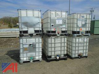 350 Gallon Water Tanks with Cage