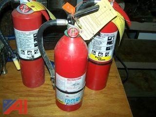 ABC Fire Extinguishers and 4' Quick Connect Gas Line