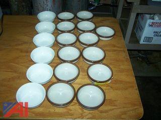Stoneware Soup Bowls
