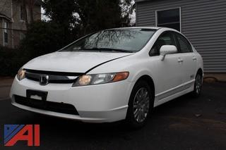**Video Attached** 2008 Honda Civic Sedan