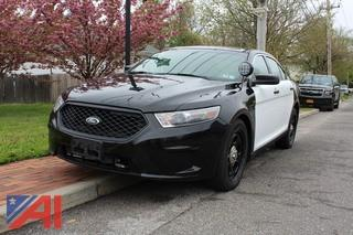 2013 Ford Taurus Sedan/Police Vehicle