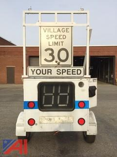 Patco/Smart Tow Behind Speed Sign