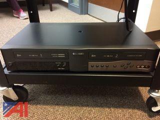 Go Video DDV3110 Sonicblue Video Cassette Recorder