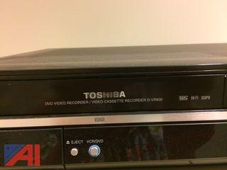 Toshiba DVD Video Recorder/Video Cassette Recorder