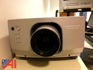 Sharp High Resolution Conference Series Projector