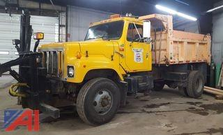 1998 International 2574 Dump Truck & Plows