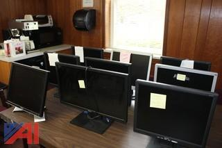 Dell and Acer Flat Screen Monitors