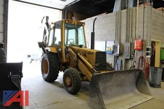 1984 Ford 555A Backhoe