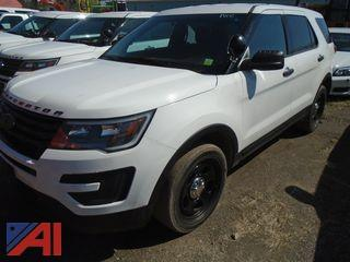 **5% BP** 2016 Ford Explorer SUV/Police Vehicle