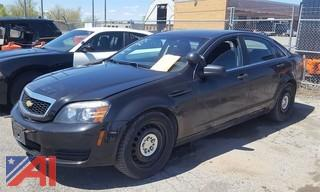 2013 Chevrolet Caprice 4DSD/Police Package
